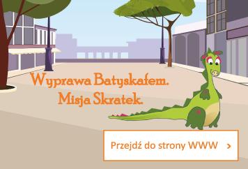 przedstawienie edukacyjne Wyprawa Batyskafem Misja Skratek