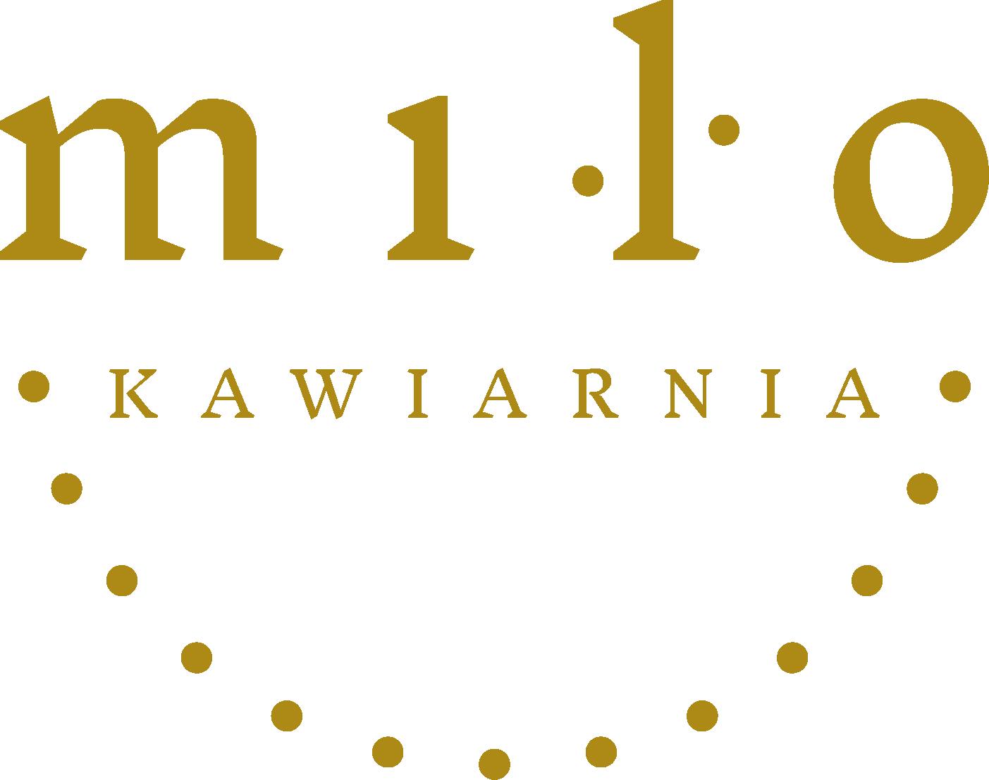 Logotyp Milo kawiarnia.