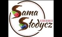 Logotyp Sama Słodycz Kawiarnia.