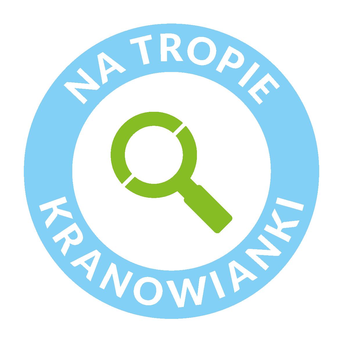 Logo programu edukacyjnego Na tropie kranowianki.