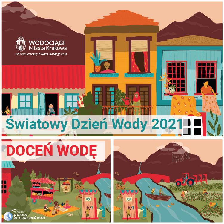 Plakat na Światowy Dzień Wody 2021