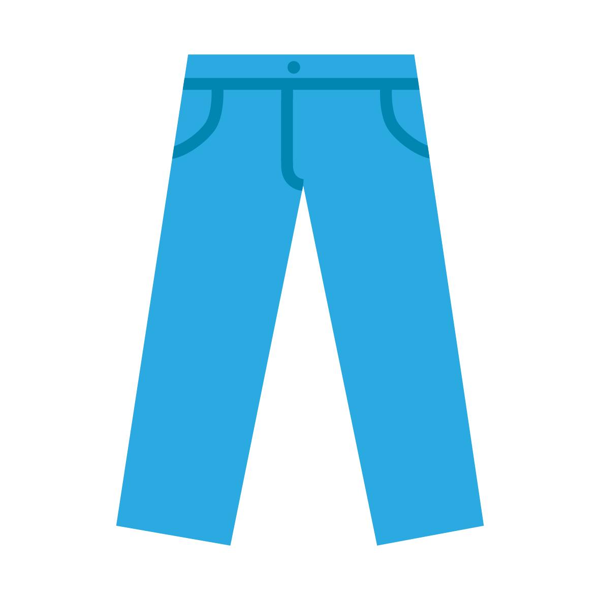 Ikona spodni dżinsowych