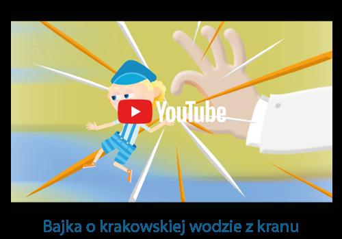 Screen z bajki o krakowskiej wodzie z kranu
