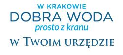 logotyp programu W Krakowie dobra woda prosto z kranu w Twoim urzędzie.