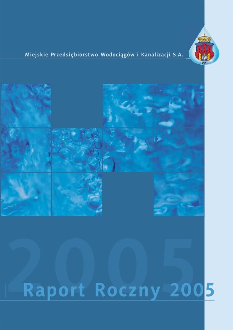 Tytuł: Zobacz raport - 2005 - poszczególne strony dostępne tylko po kliknieciu na link