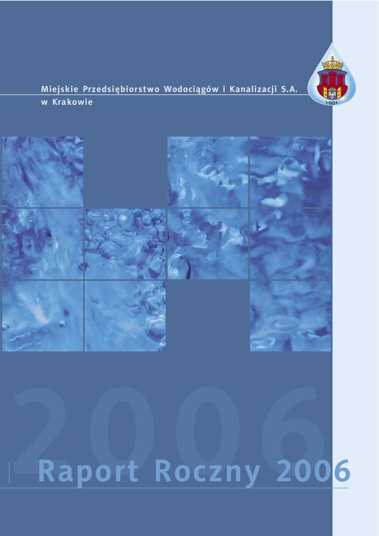 Tytuł: Zobacz raport - 2006 - poszczególne strony dostępne tylko po kliknieciu na link