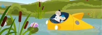 Animowana przygoda z dziadkiem Tadkiem i Olkiem