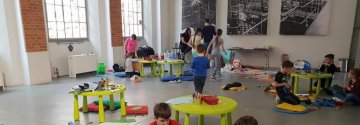 Strajk nauczycieli - warsztaty dla dzieci pracowników